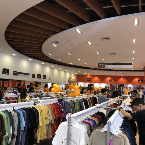 Designer used clothing supplier